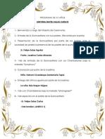 Programa de Xv Años Toñita 2019