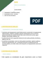 La Metodologia de Analisis PDF