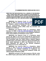 (4) Supreme Court Administrative Circular No. 90-13