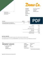 Invoice INV 0021