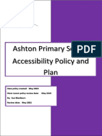 Accessibility Plan 2019