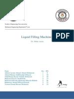 liquid filling production line