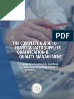 FDA WP SupplierQualification