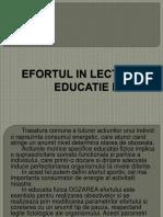 110743604 Efortul in Lectia de Educatie Fizica p