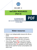 Natural Resources(Water Part 2