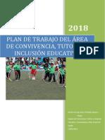 Plan de Convivencia, Tutoría e Inclusión Educativa.