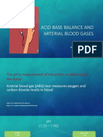 Acid Base and Abg