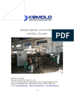 FD-200 Radiant Freeze Dryer Quotation