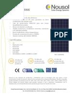 Datasheet NSL330P_ES