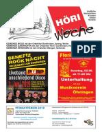 Höriwoche KW22