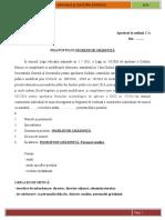 Fisa Postului Ingrijitor Gradinita legea nr.1 din 2011