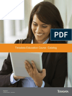 Teradata 2017 Training Catalogue
