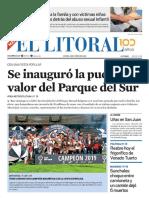 El Litoral Mañana 03/06/2019