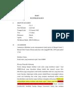 Laporan Kasus Tuberkulosis Paru12