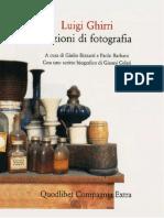 Lezioni Di Fotografia (Luigi Ghirri)