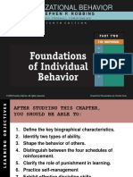 2. Individual Behavior