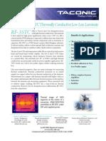 Taconic RF-35TC Technical Data Sheet