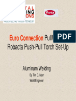 Digital Welding Solutions- PullMig Set-Up and Calibration