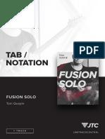 Tom Quayler Fusion Solo