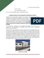 Informe Pruebas FAT Generador de Hidrógeno