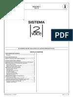 Sez. 1 - Sistema 2VOICE