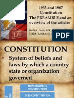 Legal Basis Presentation