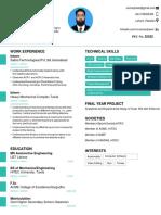 Resume-Engineer Muhammad Umsan Yousaf