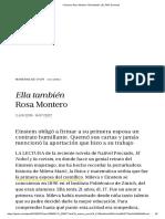 Columna_ Rosa Montero_ Ella También _ EL PAÍS Semanal
