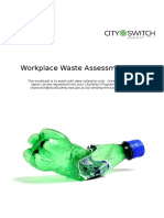 CitySwitch Waste Assessment Tool_Workbook