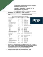 Sulfolane Corrossion Issue