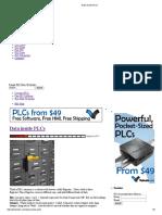 Data Inside PLCs
