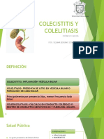 Colecistitis y Colelitiasis