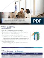 45 Cisco ONE VIP 26 Overview