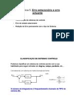 AT5 - Erro Estacionário e Erro Actuante