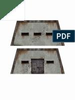 scratch build warhammer 40k bunker 2