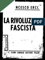 La Rivoluzione Fascista 1936