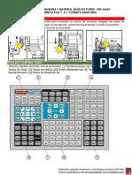 Referencia de Maquina y Material Base en Torno Cnc Haas