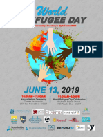 2019 World Refugee Day Flyer