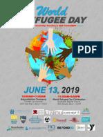 2019 World Refugee Day Flyer