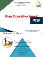Charla de Plan Operativo Anual