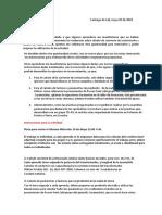 Word-Instrucciones Recuperatorio, Trabajo