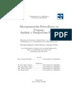 Microgeneración Fotovoltaica en Uruguay