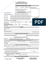 CNHS SHS Enrollment Form 2019