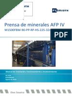 manual de instalacion , funcionamineto y mantenimiento. filtro de placa.pdf