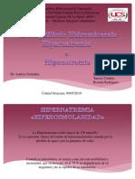 Hiper e Hiponatremia