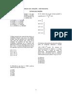 ANÁLISE DAS VARIAÇÕES - ESTUDO DAS FUNÇÕES (1)