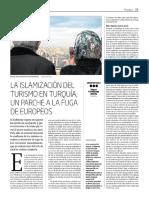 La islamización del turismo en Turquía, un parche a la fuga de europeos