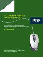 AIIAS Research Manual