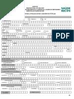 Formulario de Recadastramento Do Titular Anexo II