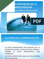 PPT Nuevos Enfoques de La Administracion
